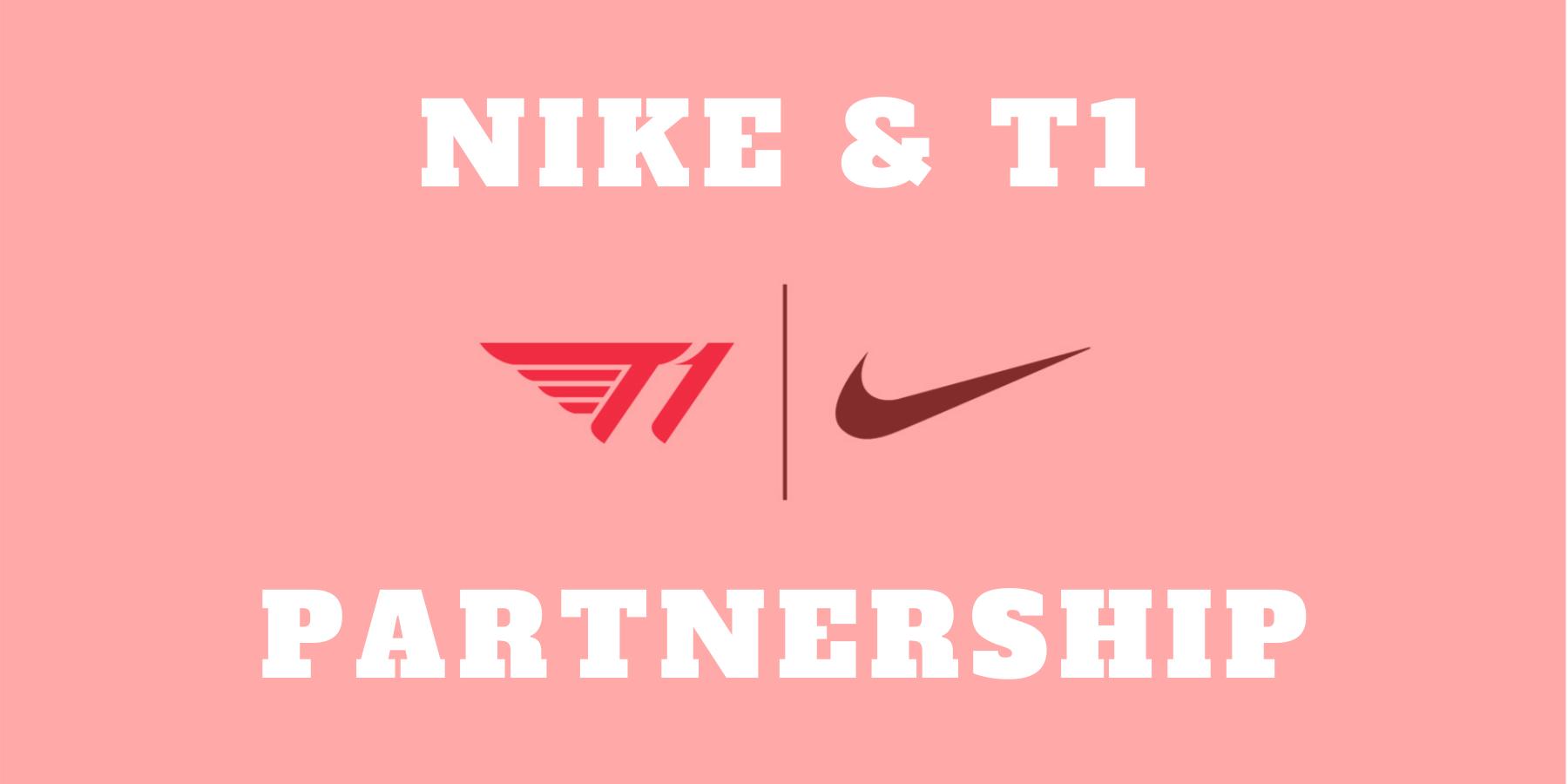 perdón Por cierto palo  Nike & T1 Partners To Support eSports In S. Korea - KoreaGameDesk - Korea's  Leading Game and Esports Media Publication