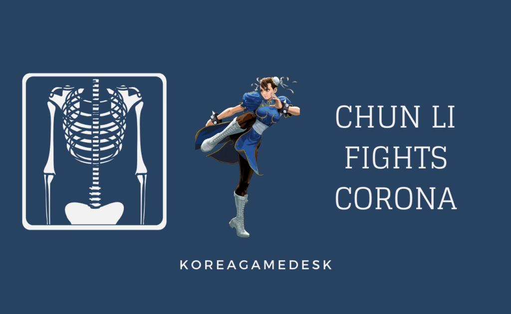 Chun Li Cosplay -er Fights CoronaVirus