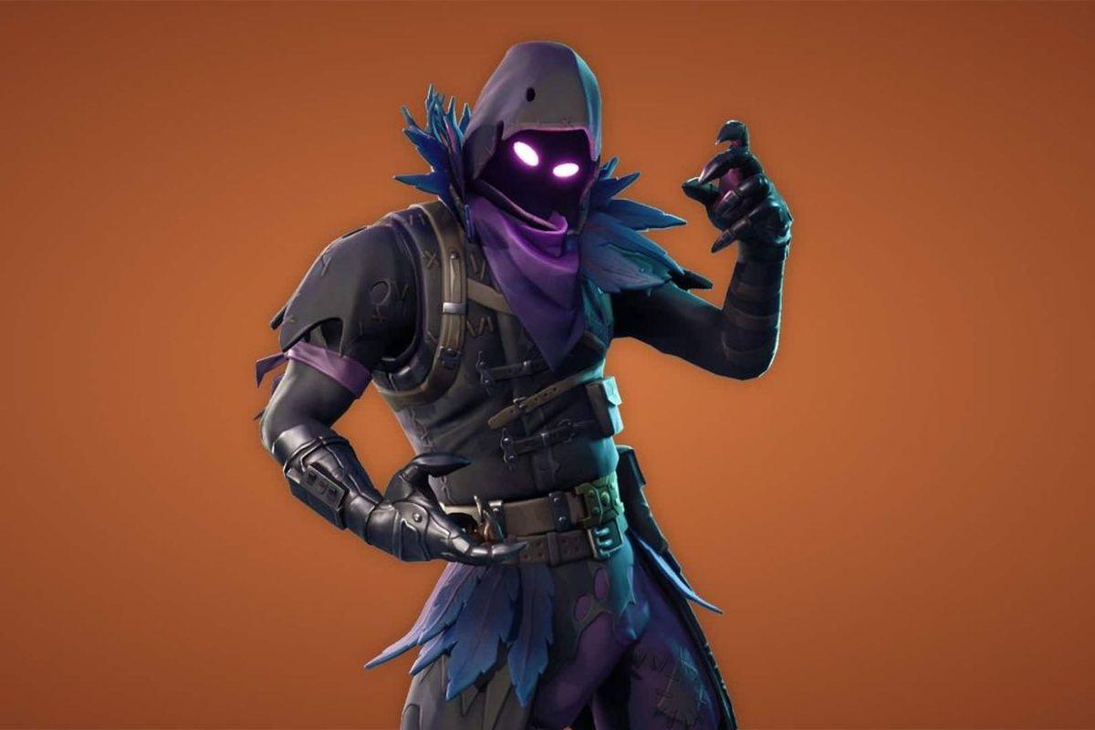 fortnite skin raven