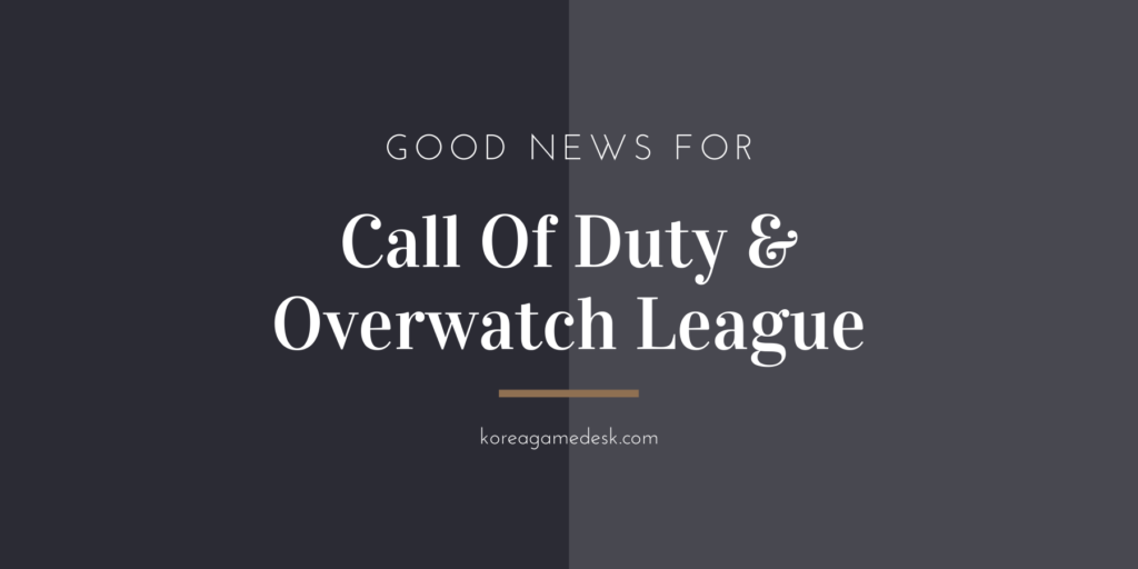 Despite Coronavirus, Ticket Sales Of Call Of Duty & Overwatch League Remain Positive
