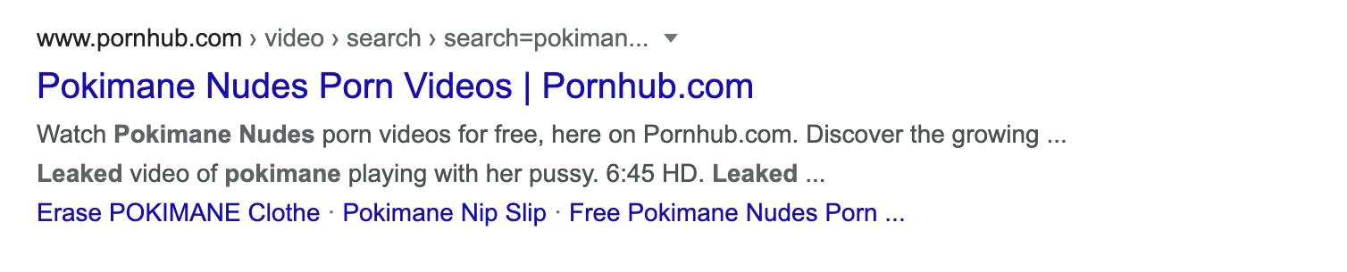 pokimane leaked nudes