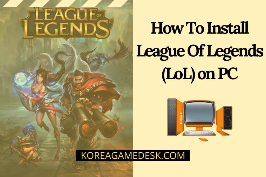 League of Legends - cover