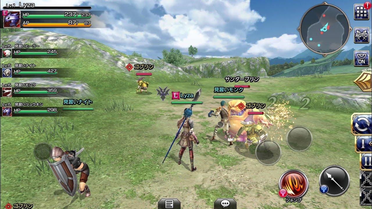 mobile games RPG